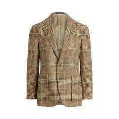 The RL67 Glen Plaid Jacket Plaid Jacket, Vest, Jacket Drawing, Ralph Lauren, Glen Plaid, Sport Coat, What To Wear, Blazer, Silk