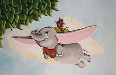 Dumbo Mural Painting by Bonniemarie.deviantart.com on @deviantART