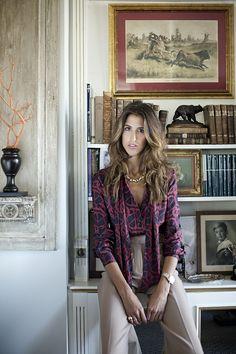Inés Domecq. Cherchez la femme - Blanca J. de la Hoz Fashion Line, Fashion Looks, Style Invierno, Mode Top, Model Look, Looks Chic, Work Attire, Style Icons, Classic Style