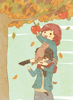 THIS IS TOO CUTE I SHIP THEM SO MUCH | Ao Haru Ride