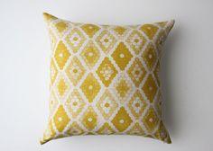 Linen Pillow Cover  Honeycomb by jennarosehandmade on Etsy, $45.00