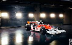 McLaren M26 James Hunt Dubai Autodrome