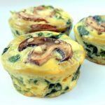 Spinach Egg Cups - OR do Spinach & Feta, OR Spinach & Salmon, OR Mushroom & Onion, Or Mexican w/ bell peppers, green onions, salsa & ground turkey