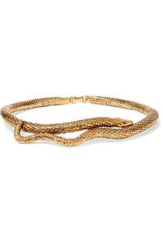 Aurélie Bidermann - Tao Gold-plated Choker - one size