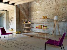 matassa Bookshelf - Miniforms #Bookcases