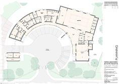 community center floor plan design - Google Search