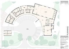 community center floor plan design - Google Search