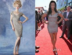 Paula Patton In Theia - 2013 ESPY Awards