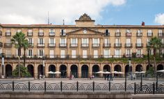 Plaza Nueva in the Old Town - Bilbao