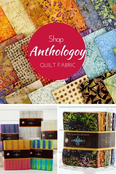 Searching for that magic quilting fabric that works with everything? You've found it in Anthology Batiks! Enjoy hand-stamped batiks and vivid hues that look beautiful pieced, paired with solids, or even blended with modern prints in a matching palette. Get yours on Craftsy today!