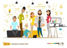 Business Characters Scene - Concepts Business Download here : http://graphicriver.net/item/business-characters-scene/16146973?s_rank=309&ref=Al-fatih