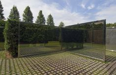 Dan Graham hedge labyrinth