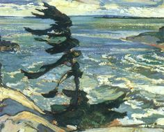 Group of Seven Probably the most famous Canadian artists are Emily Carr and the group of seven. The group of seven (seven Canadian painters) worked in the painting beautiful Canadian landscapes. Group Of Seven Artists, Group Of Seven Paintings, Emily Carr, Canadian Painters, Canadian Artists, English Artists, Landscape Art, Landscape Paintings, Dulwich Picture Gallery