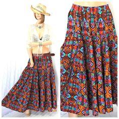 maxi dress long 80s