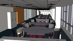 Office building interior - 3D Warehouse