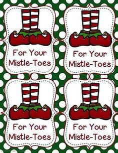 Holiday Gift Tags FREEBIE