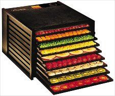 Excalibur 3900 Deluxe Food Dehydrator - 9 Tray - Black - Food Dryer Kitchen Appliance - Food Storage & More: Amazon.com: Kitchen & Dining