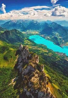 Haute-Savoie in the France Alpes