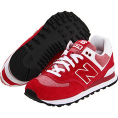 These New Balance shoes are soooo cute for Husker game days!
