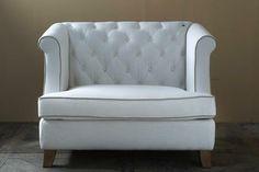 €1199,- Hyde Park Love Seat Linen #living #interior #rivieramaison