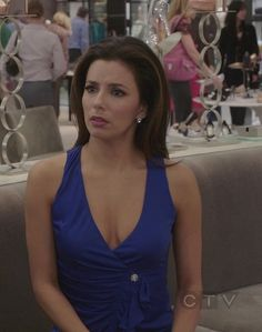 Gabrielle Solis and Roberto Cavalli Ruffled Blouse Photograph