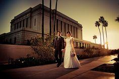 Mesa Arizona Temple Wedding by jerryfergusonphotography, via Flickr