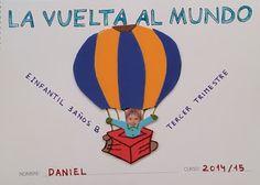 PEQUEAULA DE ELENA Around The World In 80 Days, Around The Worlds, Preschool, Sports, Jr, Google, La Vuelta, Infant Crafts, Third Grade