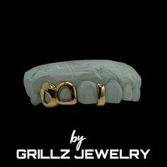 Gap Grillz, Open Face Grillz, Custom Grillz, Diamond Grillz, Gold Caps, Diamond Settings, Mold Making, Gold Style, Middle