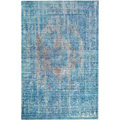 Χαλιά Καλοκαιρινά 170x240cm BROOKLYN 5112 blue-l.blue