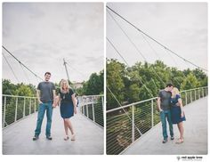 red apple tree photography: Chelsea + David Engagement, downtown Greenville SC