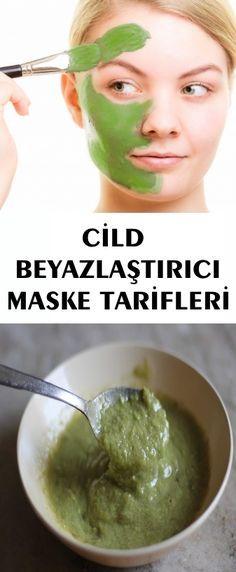 CİLD BEYAZLAŞTIRICI MASKE TARİFLERİ