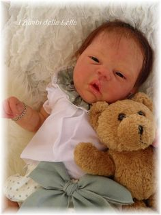Reborn baby doll Elyse by Cassie Brace