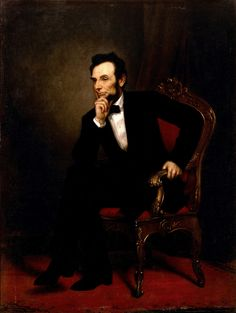 Abraham Lincoln by George Peter Alexander Healy, 1869--Official White House portrait of Abraham Lincoln