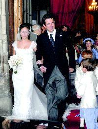 El hijo pequeño de Emilio Botín y Paloma O´Shea  se casó en Madrid