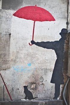 Paris Street Art Banksy Graffiti Photo by DanielleAquiline on Etsy, $30.00