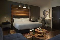 Wonderful Retro Interior Design Hotel Zetta in San Francisco
