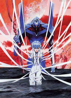 Neon Genesis Evangelion rei ayanami Evangelion Anime My Edits: Evangelion