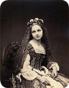German. 1860s Fancy Dress costumes.