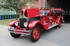 1929 American LaFrance-Foamite fire truck.....