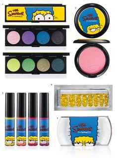 Maquiagem MAC The Simpsons!