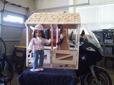 American Girl Doll Horse Stable