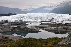 Matanuska Glacier. Matanuska Valley Alaska [OC][3709x2464]