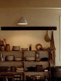 Kitchen Interior, Room Interior, Wabi Sabi, Interior Photo, Interior Design, Feng Shui, Freestanding Kitchen, Diy Home Decor, Room Decor