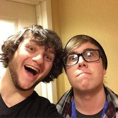 Why hello peoples. I have been invited to this board, so have this picture of MunchingBrotato and SkyDoesMinecraft. You're welcome.