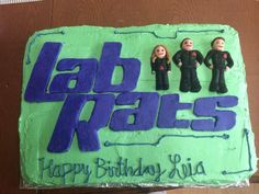 Lab Rats Cake