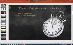 Másodperc - Az időmérés - Matek 3. osztály VIDEÓ - Kalauzoló - Online tanulás 30, Clock, Wall, Decor, Watch, Decorating, Clocks, Inredning, Interior Decorating