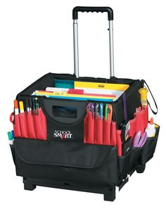 Shop the best selection of School Smart. A complete assortment of Rolling Storage Bins & Cart products. School & Office products to meet your classroom needs. Office Supply Organization, Classroom Organization, Organization Hacks, Classroom Ideas, Classroom Helpers, Classroom Design, Teacher Cart, Teacher Sites, Teacher Stuff