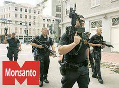 Yes,  Monsanto Actually DID Buy the BLACKWATER Mercenary Group!
