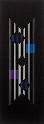Série Preta 1974 | Lothar Charoux serigrafia sobre papel, 23/25 70.00 x 20.00 cm