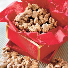 Food Gifts for Christmas: Praline Pecans